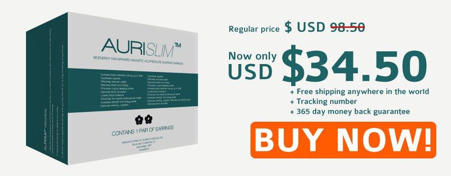 Buy Aurislim Slimming Earrings, Best Weight Loss Device